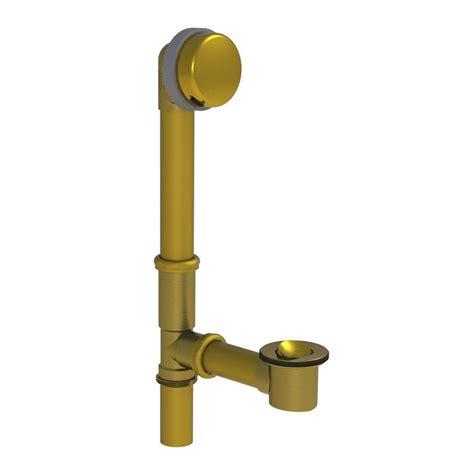 brass bathtub watco 591 series 16 in tubular brass bath waste with
