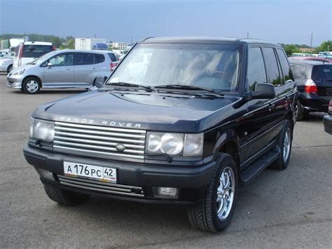 2000 land rover 2000 land rover range rover wallpapers 4 6l gasoline