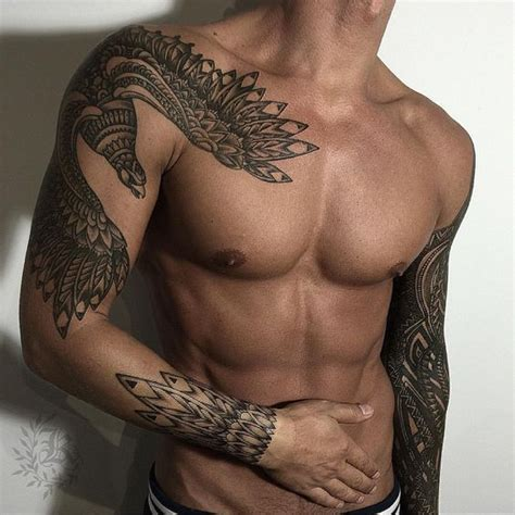good shoulder tattoos for men best 25 tribal tattoos ideas on