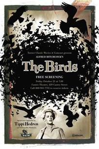 movie posters the birds 1963