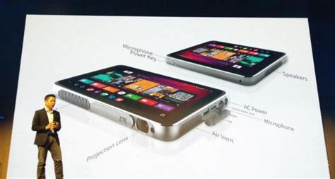 Hp Zte Projector Hotspot zte introduces spro plus tablet projector and mobile