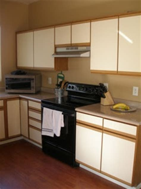 Refinishing Laminate Kitchen Cabinets by Woodmaster Woodworks Inc Updating Laminate Cabinets