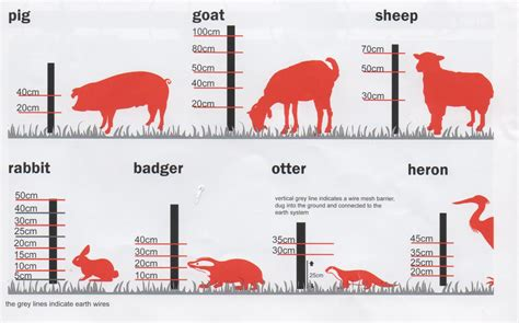 picture height what is needed to repel or contain animals electric