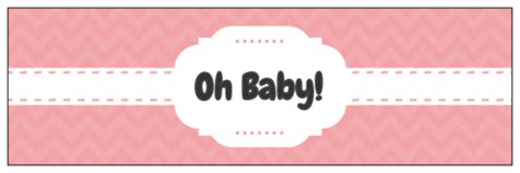 Baby Shower Label Templates Get Free Downloadable Baby Shower Designs Water Bottle Baby Shower Labels Template
