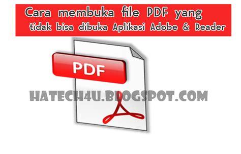 file  tidak bisa dibuka aplikasi adobe acrobat