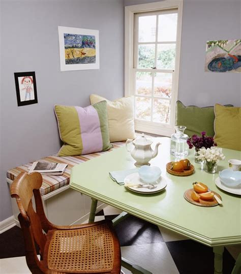 breakfast nook art innovative dining breakfast nooks violet fashion art