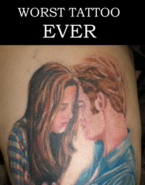 gayest tattoo ever worst