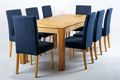 Vasa Modern Fabric Dining Chair With Removable Cover Navy Blue Navy Blue Dining Chairs
