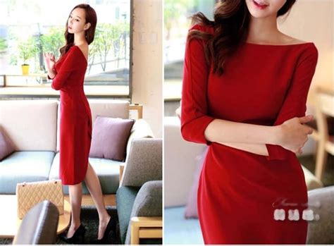 Mini Dress Gaun Import Black 211708 dress import merah cantik model terbaru jual murah import