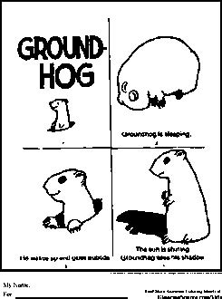 groundhog day virtue ethics groundhog day coloring pages coloring pages
