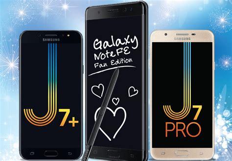 Samsung J7 Plus Dan J7 Pro Samsung Galaxy Note Fe J7 And J7 Pro Gets A Price Cut In