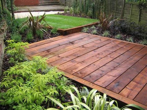 Railway Sleeper Picture 1 Home Garden Pinterest Railway Sleeper Garden Ideas