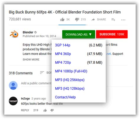 easy youtube video downloader express   extension  firefox en