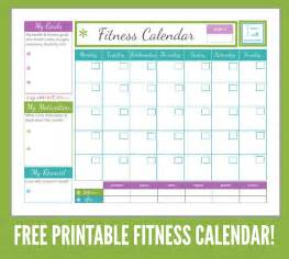 weight loss calendar template free printables for diet fitness