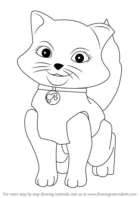 Learn How To Draw Blissa From Barbie Life In The In The Dreamhouse Colorin