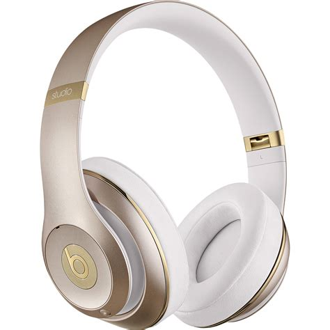 Headphone Beat By Dre Beats By Dr Dre Studio2 Wireless Headphones Gold Mhdm2am A