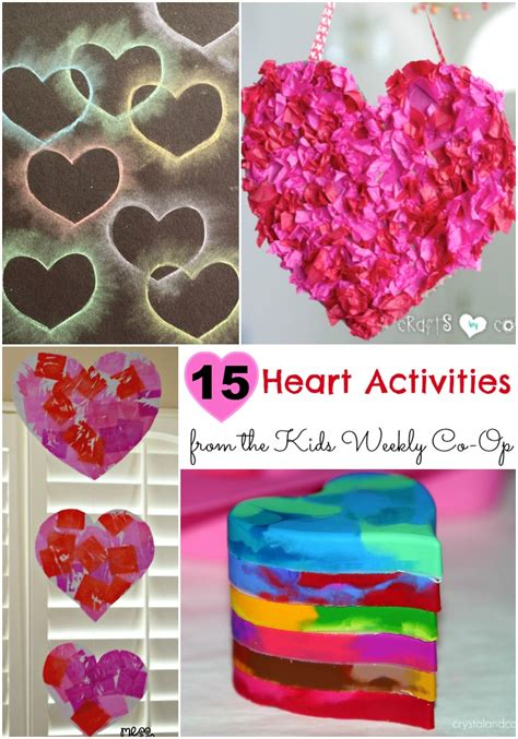 valentines activities for children 15 activities to from the weekly co op