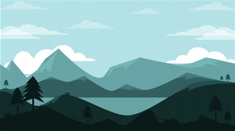 mountains landscape minimal  wallpapers hd wallpapers