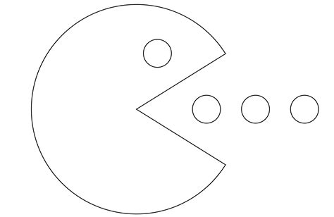 Pac Coloring Pages by Free Pacman For Coloring Home