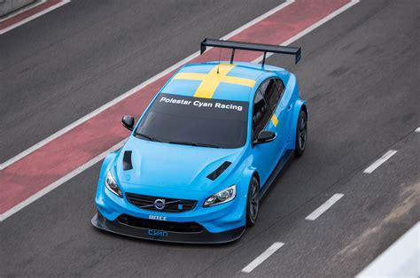 volvo  polestar racer revealed  world touring car