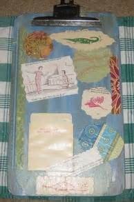 decoupage clipboard how to use paper and decoupage to decorate a clipboard