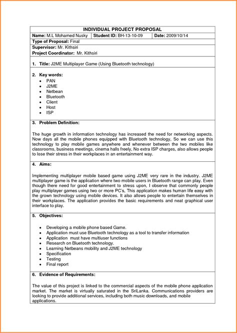 technology business plan template 6 information technology business sle