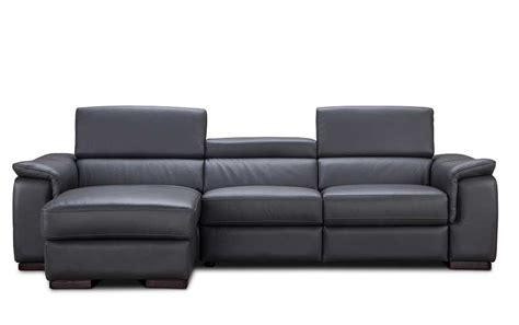 Premium Leather Sectional Sofa With Power Recliner Nj Premium Leather Sofa