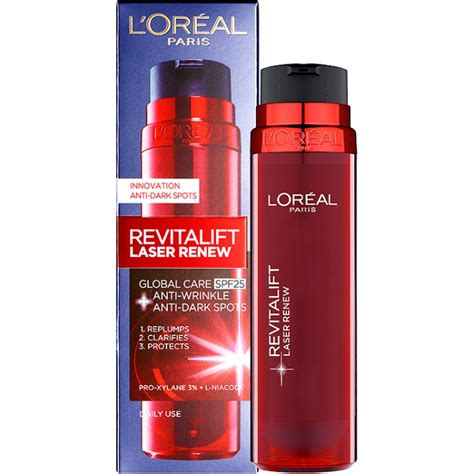 Pelembab L Oreal White Laser l oreal revitalift laser renew day global care 50ml health thehut
