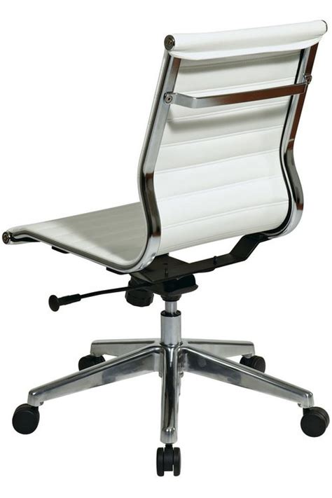 desk chair no arms leather office chair no arms leather desk chair without