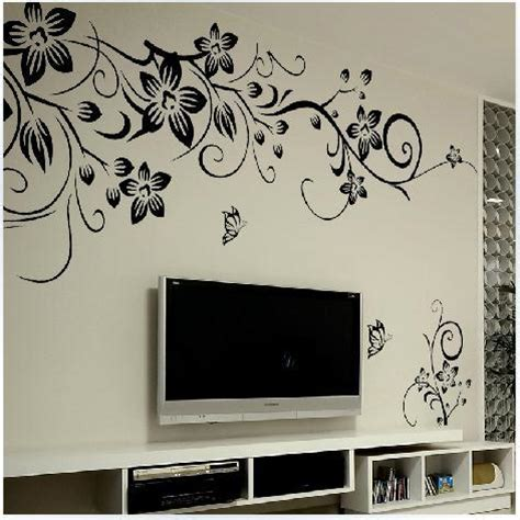 Home Decor 3d Stickers by Diy Wall Decal Decoration Fashion Flower