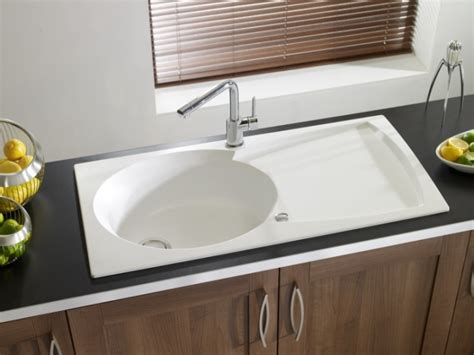 Granite Sink Astracast Ellipse White 1 5b Your Kitchen Granite Kitchen Sinks Uk