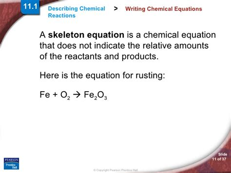 section 2 practicing equation balancing how to write skeletal equations