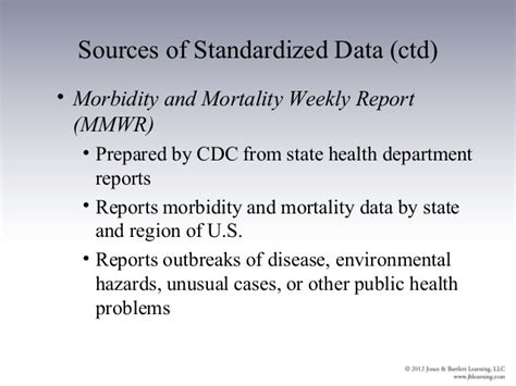 National Center For Health Statistics Marriage Records Ch03 Outline