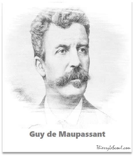biography of guy de maupassant summary rust guy de maupassant summary