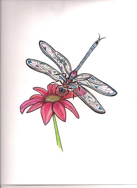 dragonfly and rose tattoo 25 best ideas about tropical flower tattoos on