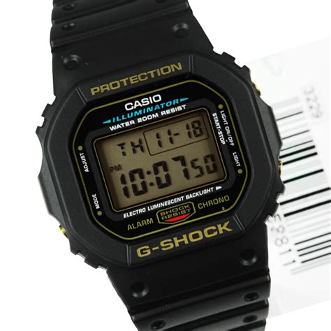 casio digitale casio g shock digital dw 5600eg 9v dw5600eg