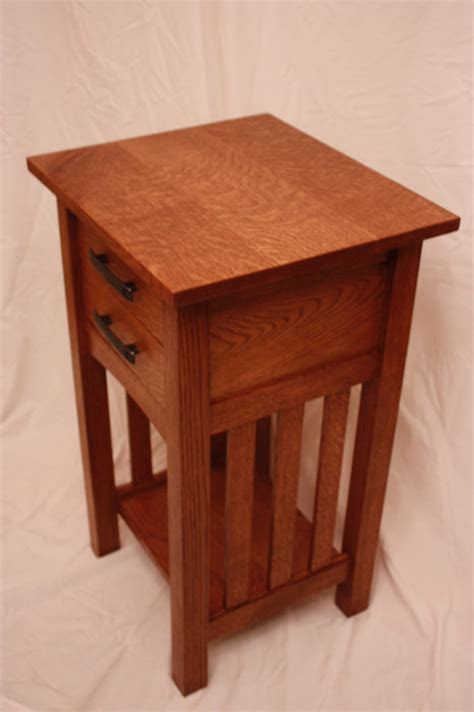 Mission Nightstand Plans arts and crafts mission style nightstand by brandon lumberjocks woodworking community
