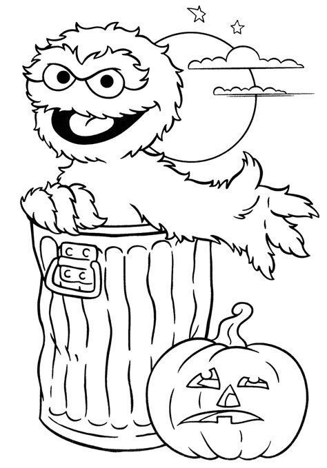 coloring pages free printable halloween halloween colorings