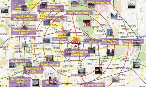 seoul map tourist attractions cikgu midad s missadventures i atlas and maps