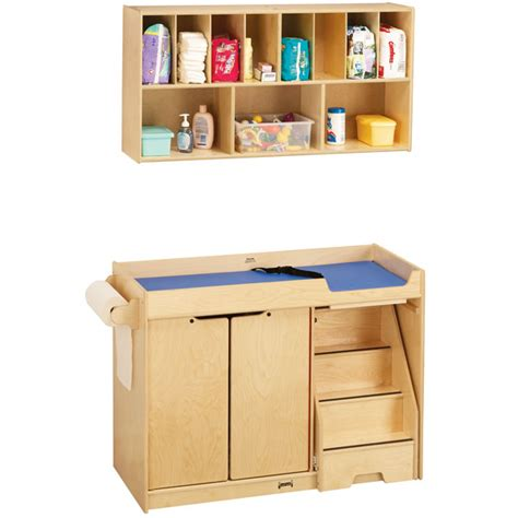 changing table with stairs jonti craft 5143jc changing table with stairs combo