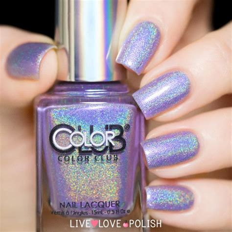 color club holographic nail 25 best ideas about color club on opi