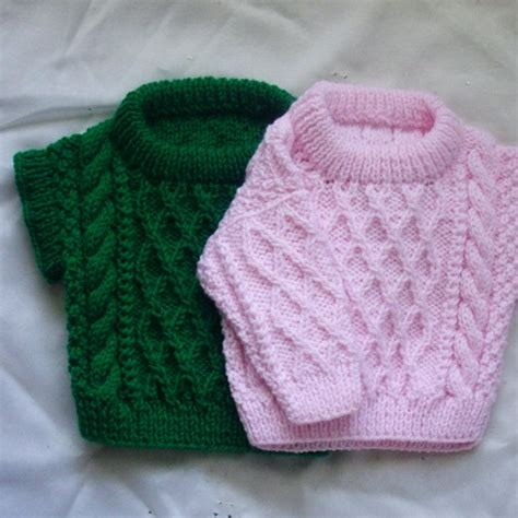 sweater for baby boy knitting pattern treabhair pdf knitting pattern for baby or toddler cable