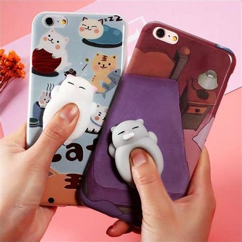 Casing Hp Slim Squishy For Iphone 6 6plus 7 7plus 8 8plus squishy animal iphone cases 3d fbcoolgadgets cool gadgets on
