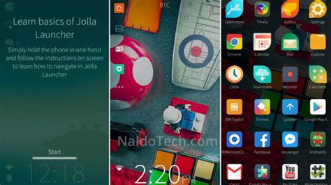 sailfish launcher untuk android - Jolla Sailfish Launcher Apk