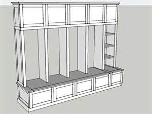 House Plans With Mudroom Building Plans For Mud Room Lockers Valerie Custom