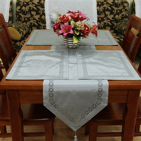 brief fashion quality modern dining table runner style placemat coffee table flag bed
