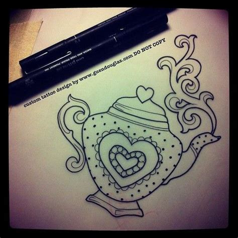 teapot tattoo designs best 25 teapot ideas only on tea
