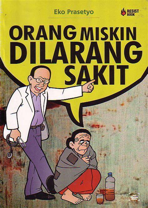 buku yang kubaca orang miskin dilarang sakit