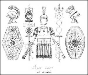Picture Of Roman Shields Chariot Driver sketch template