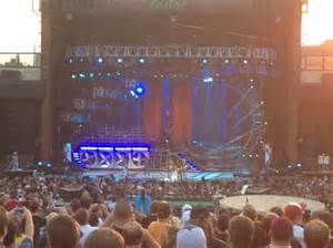 stage view from section 201 picture of fiddler s green